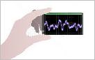 漏水音を可視化 電子音聴棒